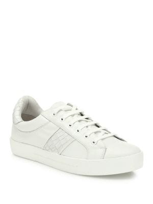 Dakota Leather Crocco Sneakers