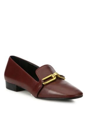 michael kors female 215965 lennox leather loafers