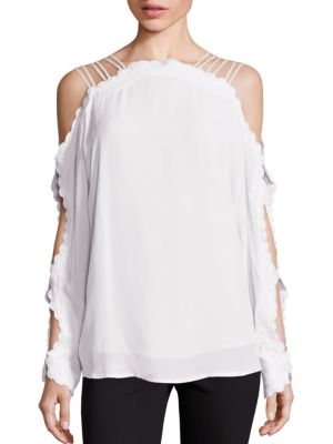 Another Love Cold Shoulder Top