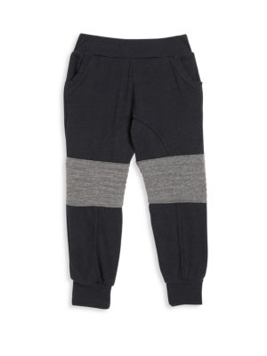 Toddler's, Little Boy's & Boy's Heathered Detail Sweatpants