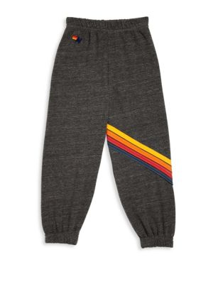 Toddler's, Little Boy's & Boy's Heathered Sweatpants