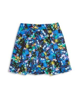 Toddler's, Little Girl's & Girl's Jewel-Print Pleated Skirt