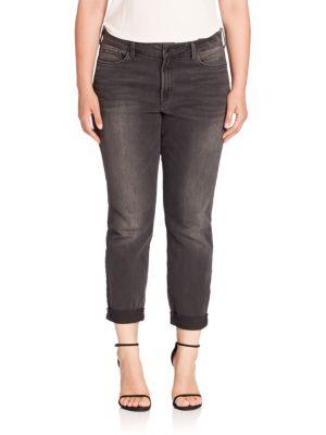Sylvia Boyfriend Jeans plus size,  plus size fashion plus size appare