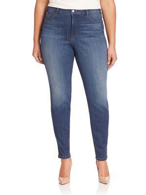 Ami Skinny Legging Jeans plus size,  plus size fashion plus size appare