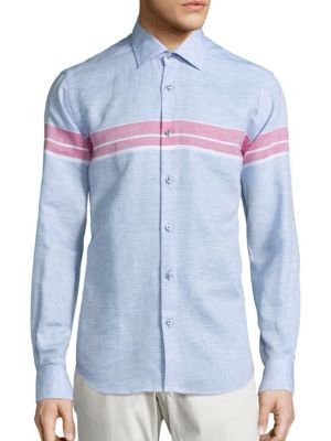 COLLECTION Striped Long Sleeve Shirt