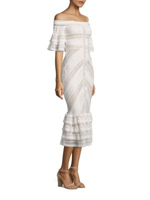 Naya Off-The-Shoulder Lace Dress
