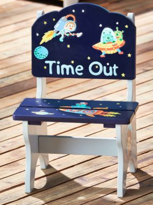 Rocket & Galaxy Timeout Chair