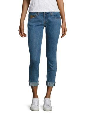Dre Boyfriend Light Wash Crop Jeans