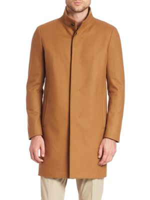 Belvin Button-Down Coat