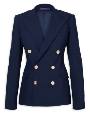 Iconic Style Camden Double-Breasted Wool Jacket