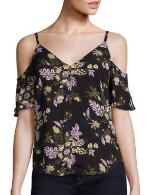 Olivia Cold Shoulder Top
