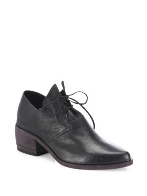 The Vault Leather Oxford Booties