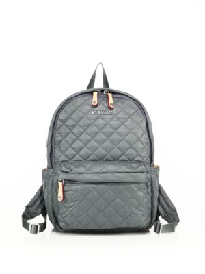 mz wallace female  oxford small metro quilted nylon backpack