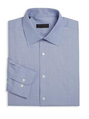 Geometric Dress Shirt
