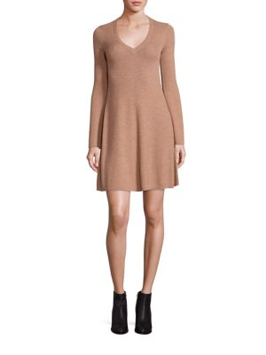 Althea Merino Wool Knit A-Line Dress