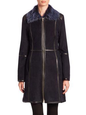 Toscana Lamb Fur & Shearling Coat