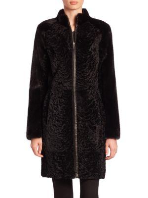 Mink & Lamb Fur Coat