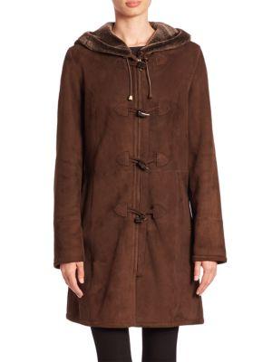 Shearling Duffle Coat