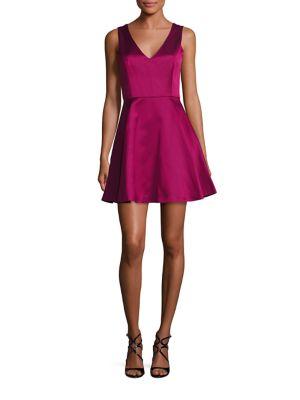 Eve Crisscross Fit-&-Flare Dress
