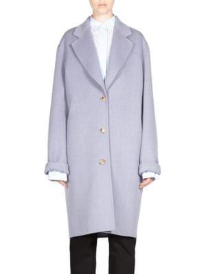 Three Button Soft Shoulder Coat