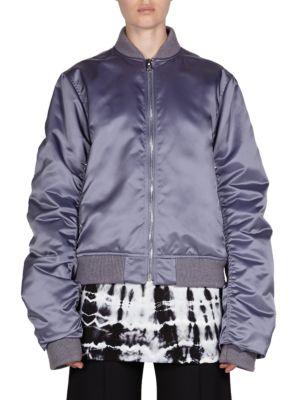 High Shine Bomber Jacket