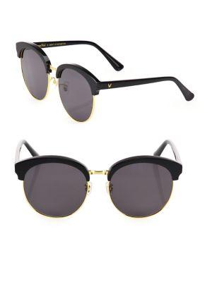 Deborah 59MM Mirrored Oversized Round Sunglasses