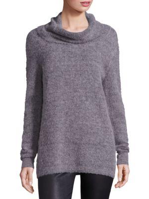 Rumor Cowlneck Baby Alpaca Wool Sweater