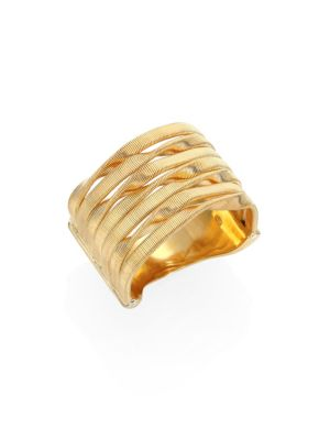 Marrakech 18K Yellow Gold Seven-Strand Ring