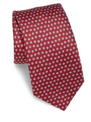 COLLECTION Polka Silk Blend Tie