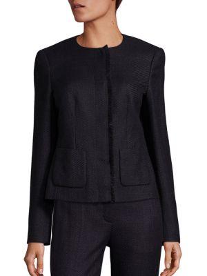 Tweed & Jersey Jacket
