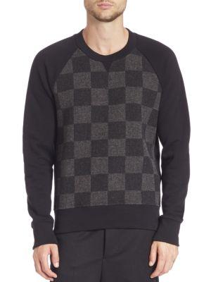 Crewneck Wool Sweatshirt