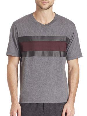 Satin Stripe T-Shirt