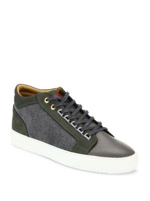 ANDROID HOMME Leather Blend Sneakers