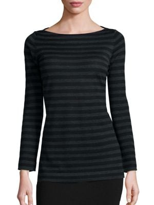 Striped Merino Wool Top