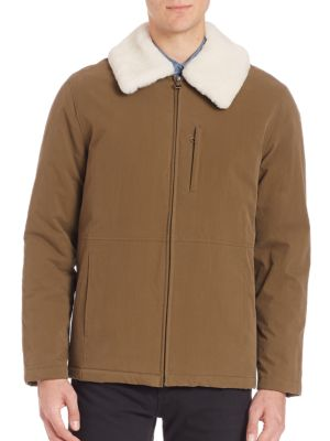 Militaire Sherpa Collar Jacket