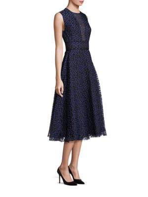 Rochie midi LELA ROSE Dotted