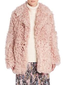 Women&39s Apparel - Coats - Fur Faux Fur &amp Shearling - saks.com