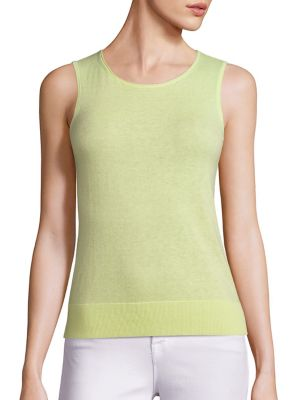 COLLECTION Sleeveless Cashmere Shell