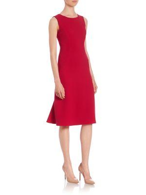 Sleeveless Crepe Dress