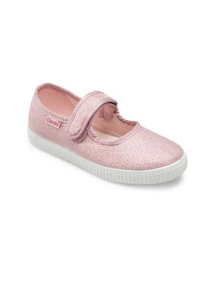 Baby's, Toddler's & Girl's Cotton Mary Jane Flats