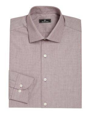 Micro Check Dress Shirt
