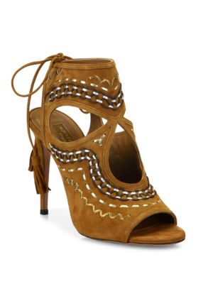 Sexy Thing Folk Suede Sandals