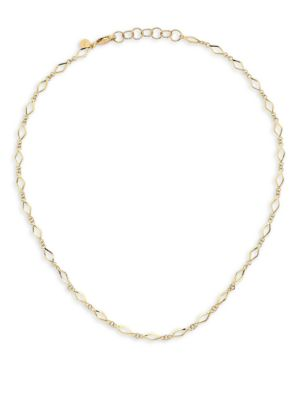 Pilar 14K Yellow Gold Choker