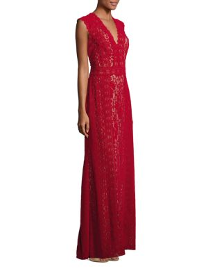 Floor-Length Sleeveless Gown