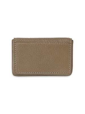 GRAPHIC IMAGE Magnetic Leather Card Case