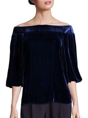 Bluză de damă TIBI Velvet