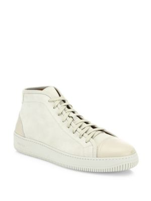 Suede & Leather Sneakers