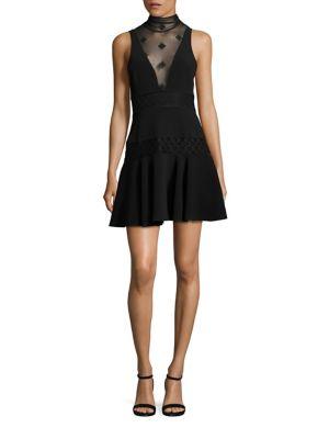 Concordia Sheer Inset Dress