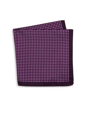 Geometric Silk Pocket Square