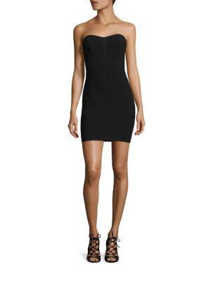 Poplar Bodycon Strapless Dress